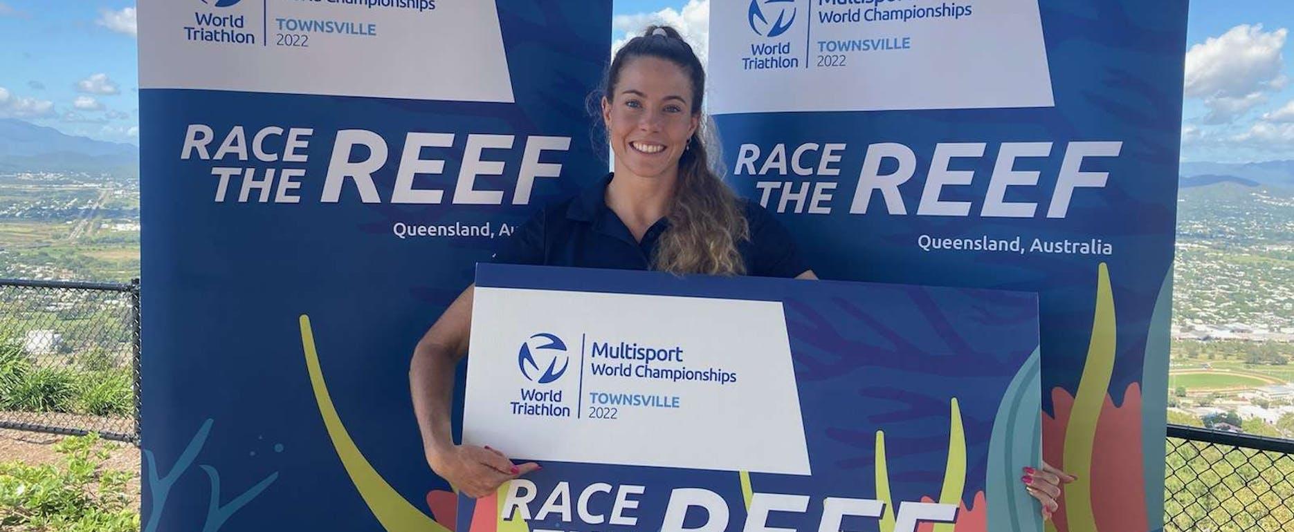 Australian professional triathlete Ellie Salthouse